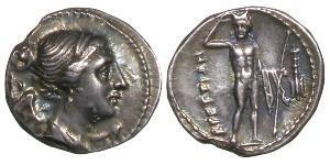 1 Драхма Древняя Греция (1100BC-330) Серебро