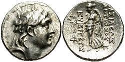 1 Драхма Держава Селевкідів (312BC-63 BC) Срібло Антіох VII  (?-129BC)