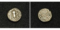 1 Драхма Western Chalukya Empire (973 - 1189) Срібло