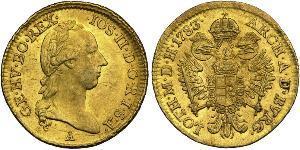 1 Дукат Австрийская империя (1804-1867) Золото Joseph II, Holy Roman Emperor  (1741 - 1790)
