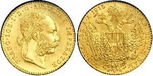 1 Дукат Австро-Венгрия (1867-1918) Золото Франц Иосиф I (1830 - 1916)