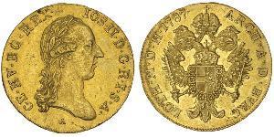 1 Дукат Австрійська імперія (1804-1867) Золото Joseph II, Holy Roman Emperor  (1741 - 1790)