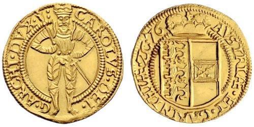 1 Дукат Габсбургская империя (1526-1804) Золото