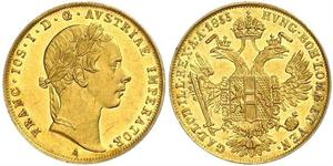 1 Дукат Габсбурзька імперія (1526-1804) Золото Франц Иосиф I (1830 - 1916)