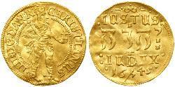 1 Дукат Датско-норвежское королевство (1536-1814) Золото Крістіан IV Данський (1577- 1648)