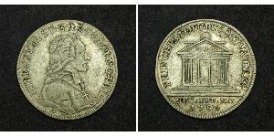 1 Дукат Зальцбург Золото Count Hieronymus von Colloredo (1732 - 1812)
