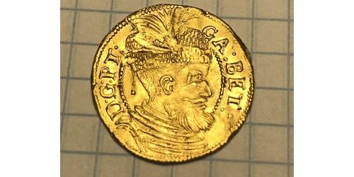 1 Дукат Княжество Трансильвания (1571-1711) Золото Габор Бетлен, князь Трансильвании (1580-1629)