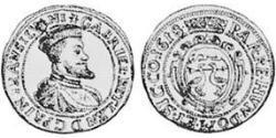 1 Дукат Князівство Трансильванія (1571-1711) Золото Габор Бетлен, князь Трансільванії  (1580-1629)