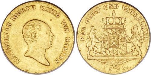 1 Дукат Королевство Бавария (1806 - 1918) Золото