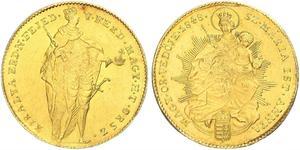 1 Дукат Королевство Венгрия (1000-1918) Золото