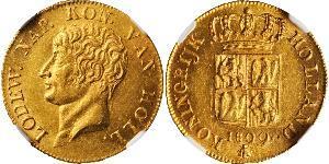 1 Дукат Королевство Голландия (1806 - 1810) Золото