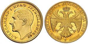 1 Дукат Королевство Югославия (1918-1943) Золото Alexander I of Yugoslavia (1888 - 1934)