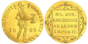 1 Дукат Королівство Нідерланди (1815 - ) Золото