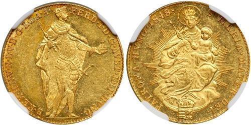 1 Дукат Королiвство Угорщина (1000-1918) Золото