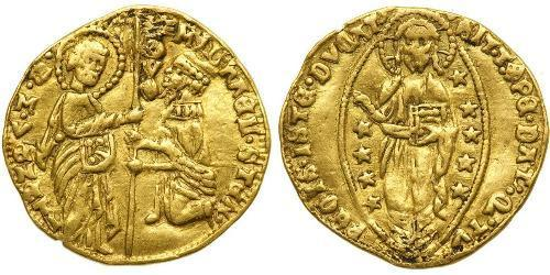1 Дукат Папська держава (752-1870) Золото