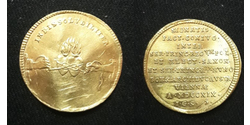 1 Дукат Річ Посполита (1569-1795) Золото August ll Mocny