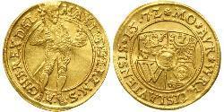 1 Дукат Федеральні землі Німеччини Золото Максиміліан II Габсбург(1527- 1576)