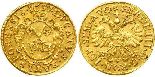 1 Дукат Федеральні землі Німеччини Золото