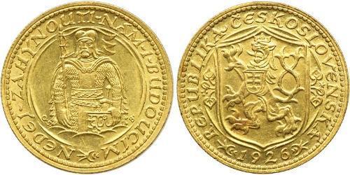 1 Дукат Чехословакия (918-1992) Золото