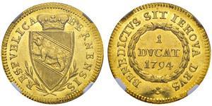 1 Дукат Швейцария Золото