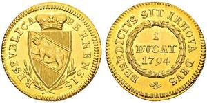 1 Дукат Швейцарія Золото