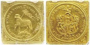 1 Дукат Free Imperial City of Nuremberg (1219 - 1806) Золото