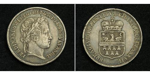 1 Дукат Австрия Серебро