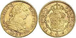 1 Ескудо Іспанія Золото Карл III король Іспанії (1716 -1788)