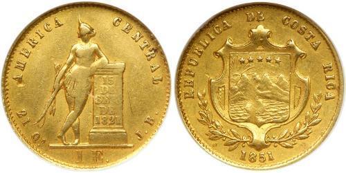 1 Ескудо Коста-Ріка Золото