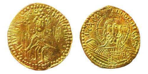 1 Златник Kiewer Rus (862 - 1240) Gold Wladimir I. (958 - 1015)