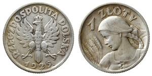 1 Злотый Польская Республика (1918 - 1939)