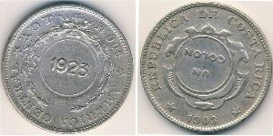 1 Колон Коста-Рика Серебро