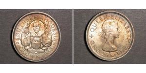 1 Крона(англійська) Південна Родезія (1923-1980) Срібло Єлизавета II (1926-)
