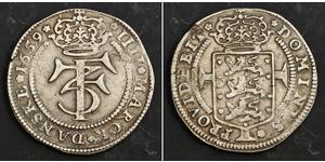 1 Крона / 4 Марка Данія Срібло Фредерік III (король Данії) (1609 -1670)
