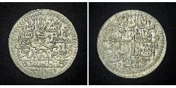 1 Куруш Османская империя (1299-1923) Серебро Mustafa II