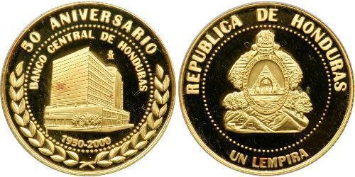 1 Лемпира Гондурас Золото