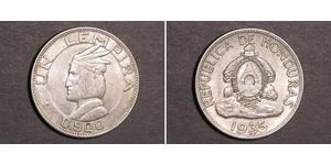 1 Лемпира Гондурас Серебро