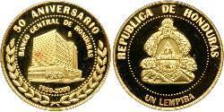 1 Лемпіра Гондурас Золото