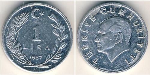 1 Лира Турция (1923 - ) Алюминий