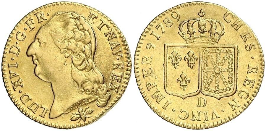 Монета луидор цена монеты казахстана 50 тиин цена