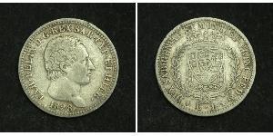 1 Ліра Italian city-states Срібло Charles Felix of Sardinia