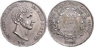 1 Марка Федеральные земли Германии Серебро