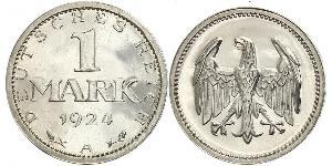 1 Марка Веймарська республіка (1918-1933) Срібло