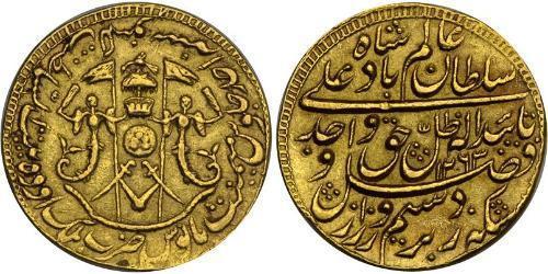 1 Мухр Британская империя (1497 - 1949) Золото