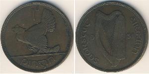 1 Пенни Ирландия (1922 - ) Бронза