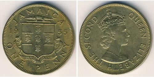 1 Пенни Ямайка (1962 - ) Бронза