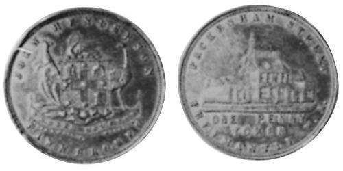 1 Пенни Австралия (1788 - 1939) Медь