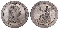 1 Пенни  Медь Георг III (1738-1820)