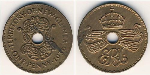 1 Пенни Папуа — Новая Гвинея