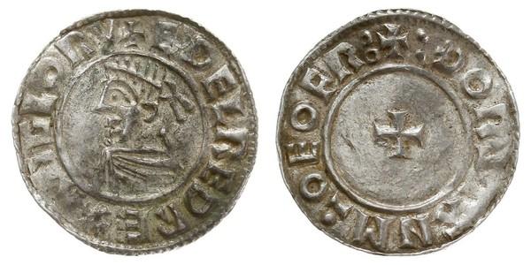 1 Пені Королівство Англія (927-1649,1660-1707) Срібло